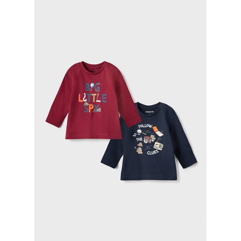 Комплект 2бр блузи за бебе момче Mayoral 2068