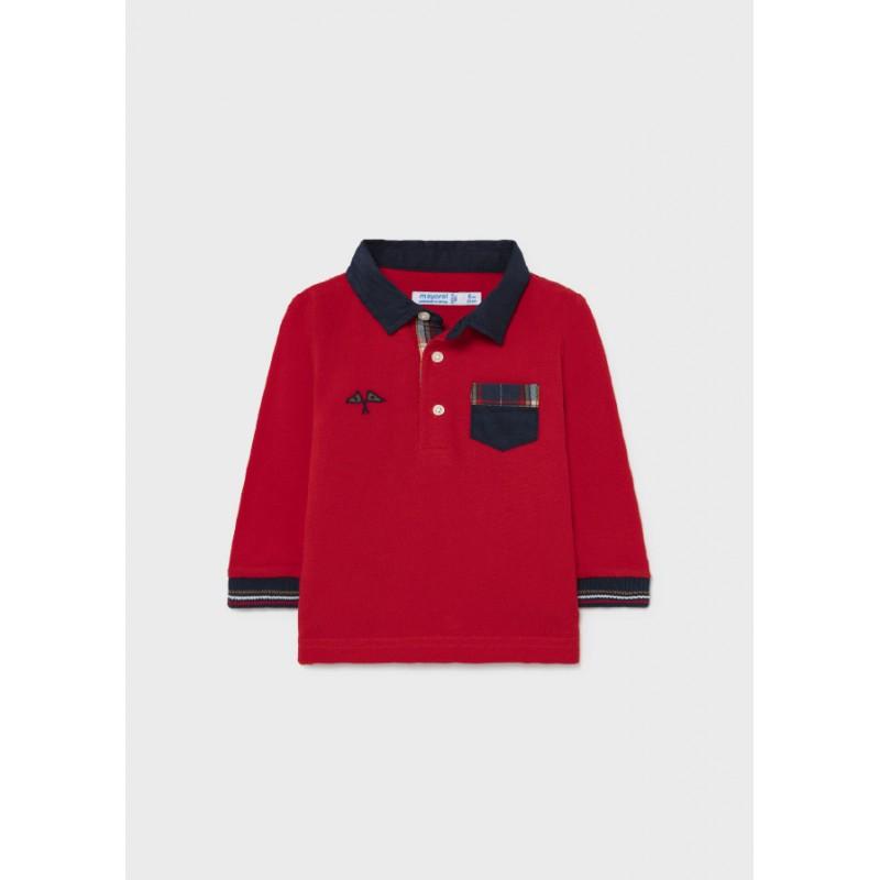 Елегантна поло блуза момче Mayoral 2139