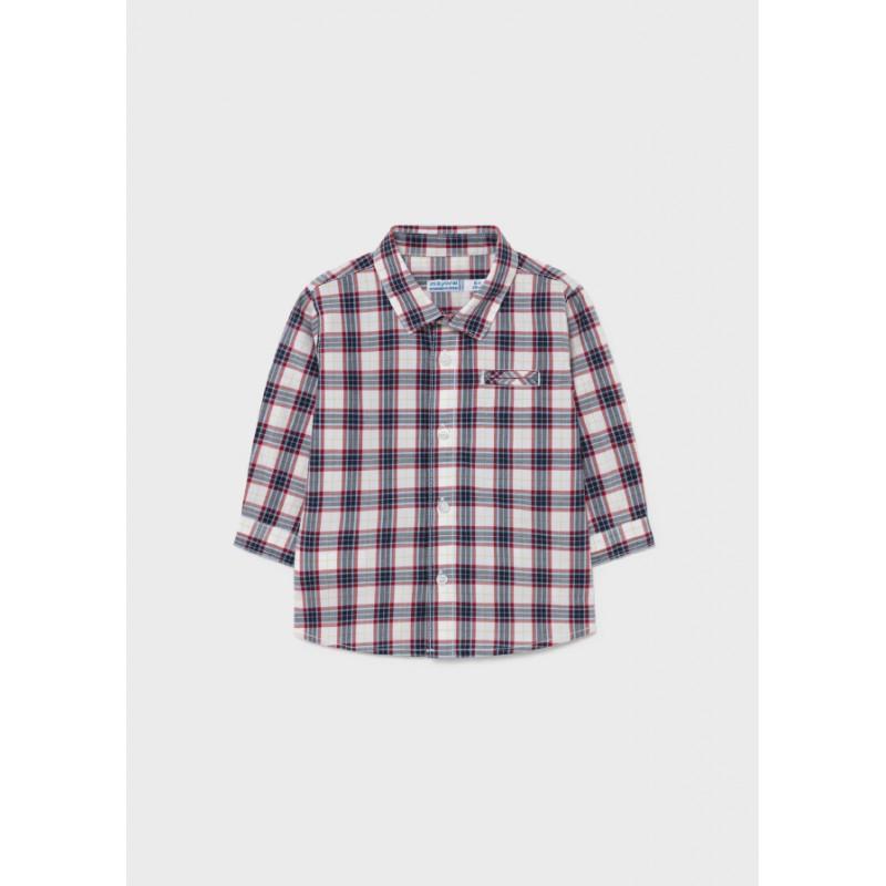 Риза  с дълъг ръкав за бебе момче Mayoral 2145