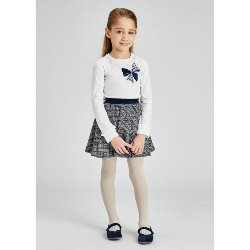 Комплект с пола и блуза за момиче Mayoral 4941
