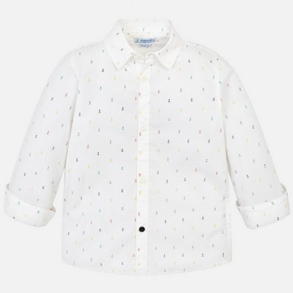 Риза с дълъг ръкав за момче Mayoral