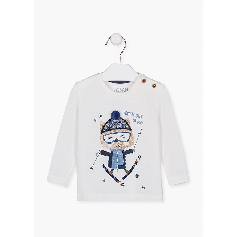 Блуза за бебе момче Losan 127-1009AL