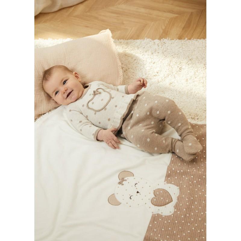 Одеяло за бебе с апликация Mayoral 9016-041