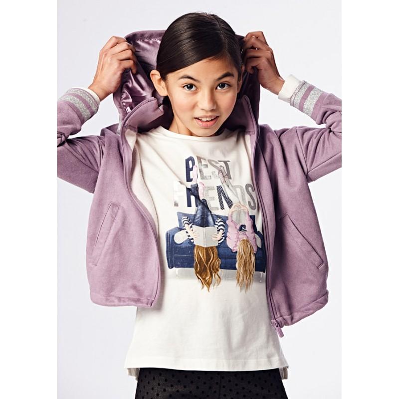 Блуза с апликация за момиче Mayoral 7094-021
