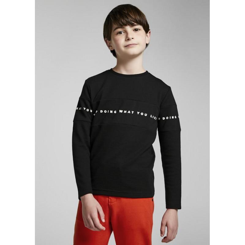 Блуза с надпис за момче Mayoral 7010-010