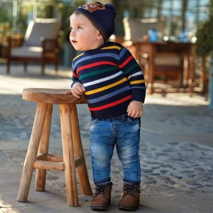 Дънки за бебе момче Mayoral