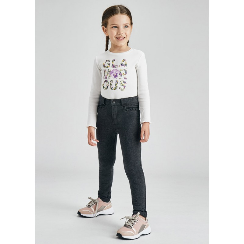Панталон от плюш за момиче Mayoral 511-055