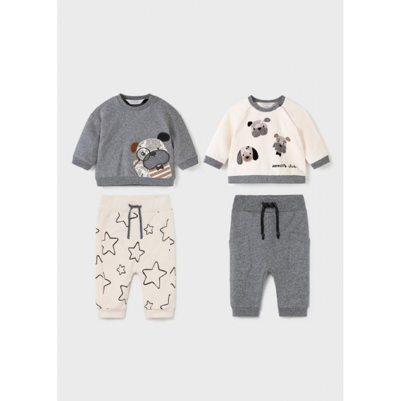 Комплект от 4 части за новородено момиче Mayoral 2602-020