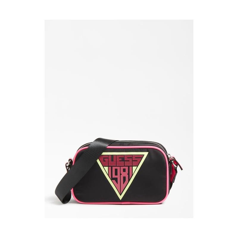 Чанта за през рамо за момиче GUESS HGRHI2PU213-BLACK