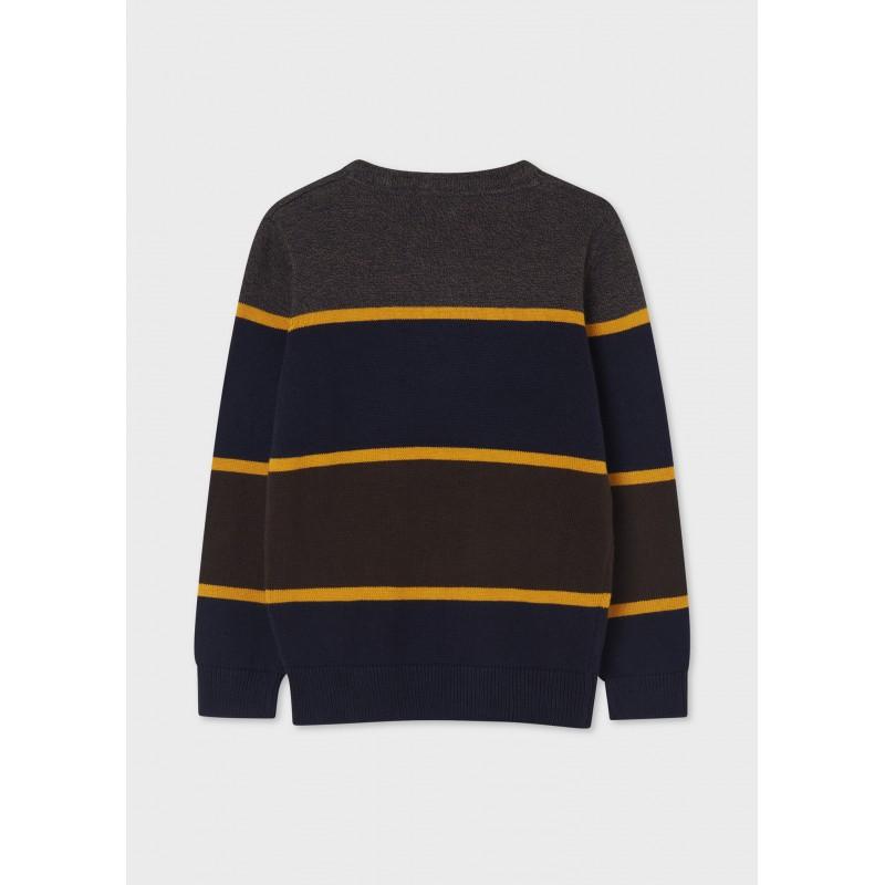 Пуловер на райета за момче Mayoral 7342-055