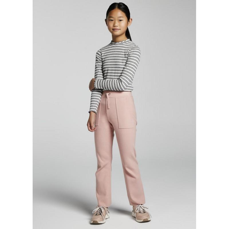 Дълъг трикотажен панталон за момиче Mayoral 7567-056