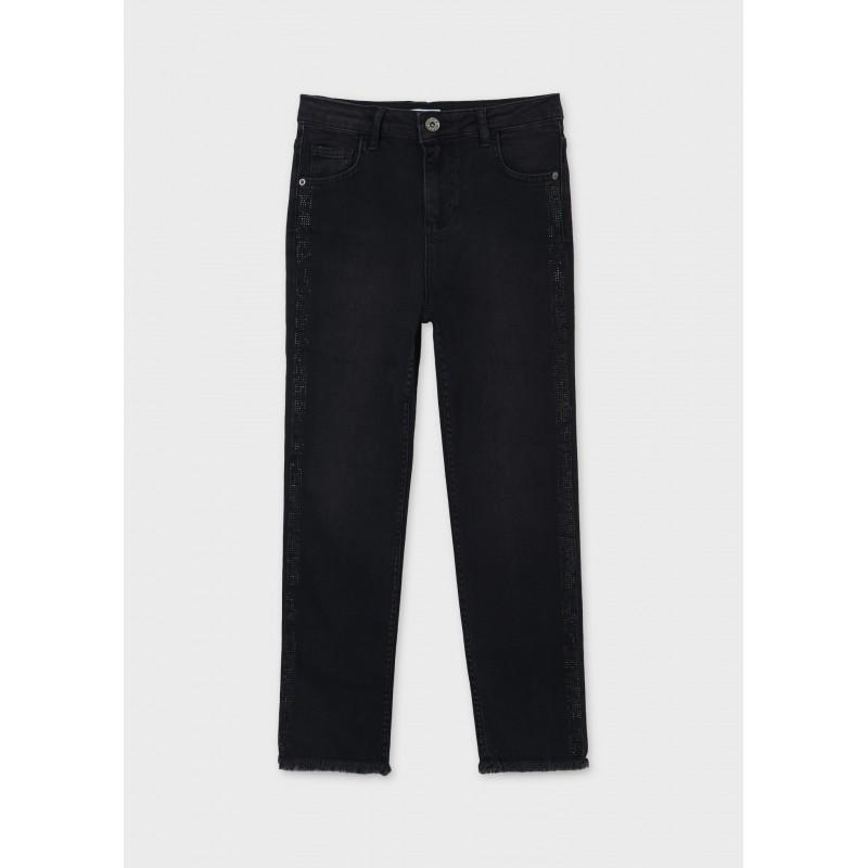 Дънков панталон slim fit за момиче Mayoral 7557-010