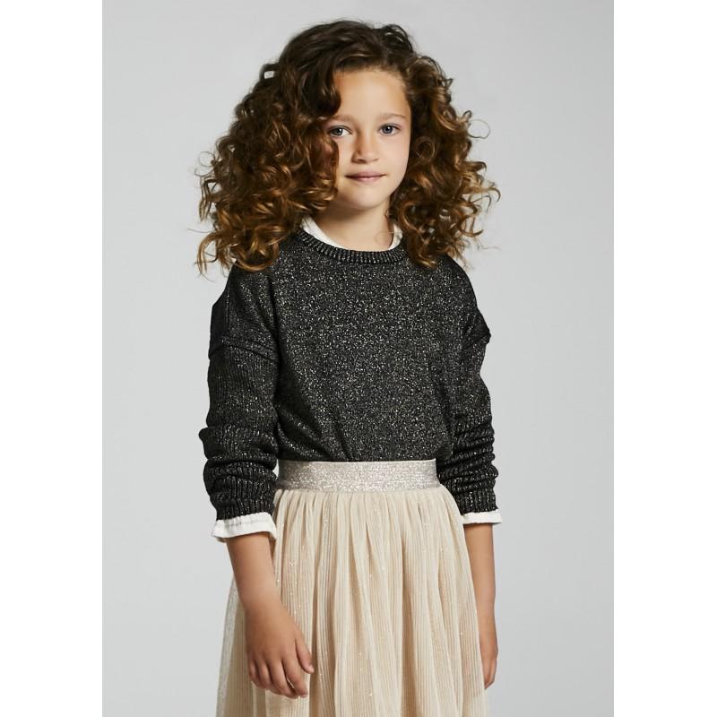Блуза с метални нишки за момиче Mayoral 7347-047
