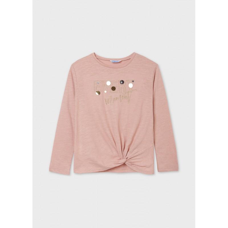 Блуза с възел за момиче Mayoral 7083-038