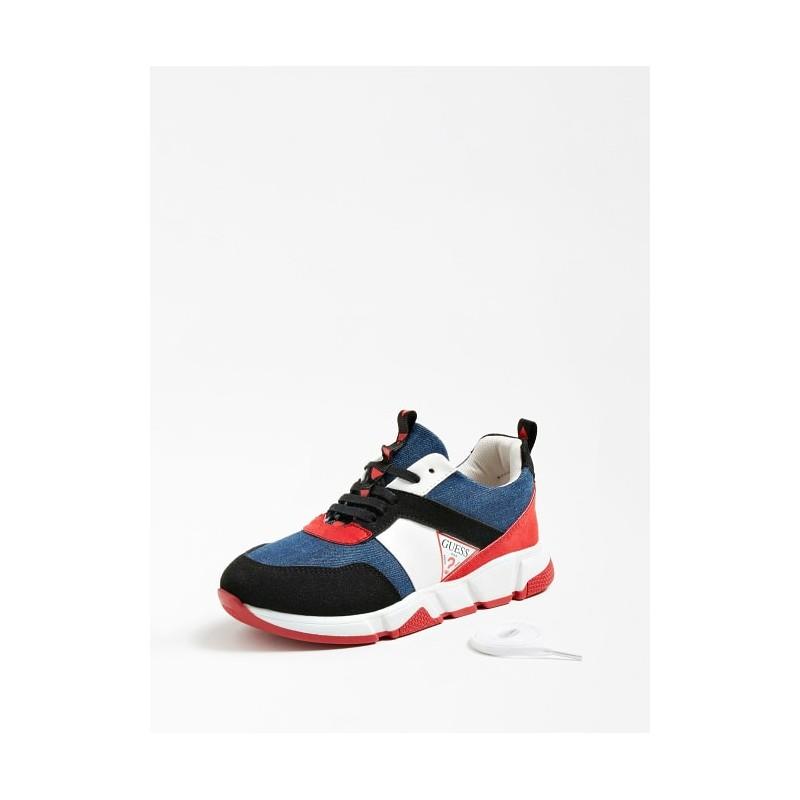 Обувки за момче Guess FI7RIKELE12-BLUE
