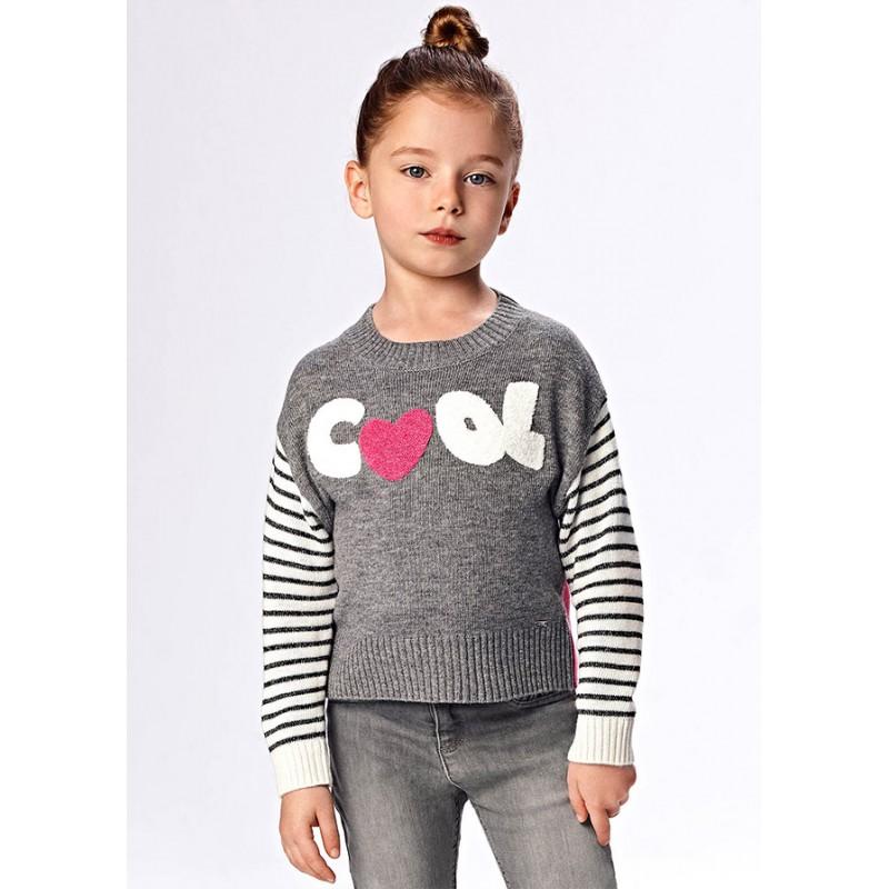 Пуловер за момиче Mayoral 4375-073