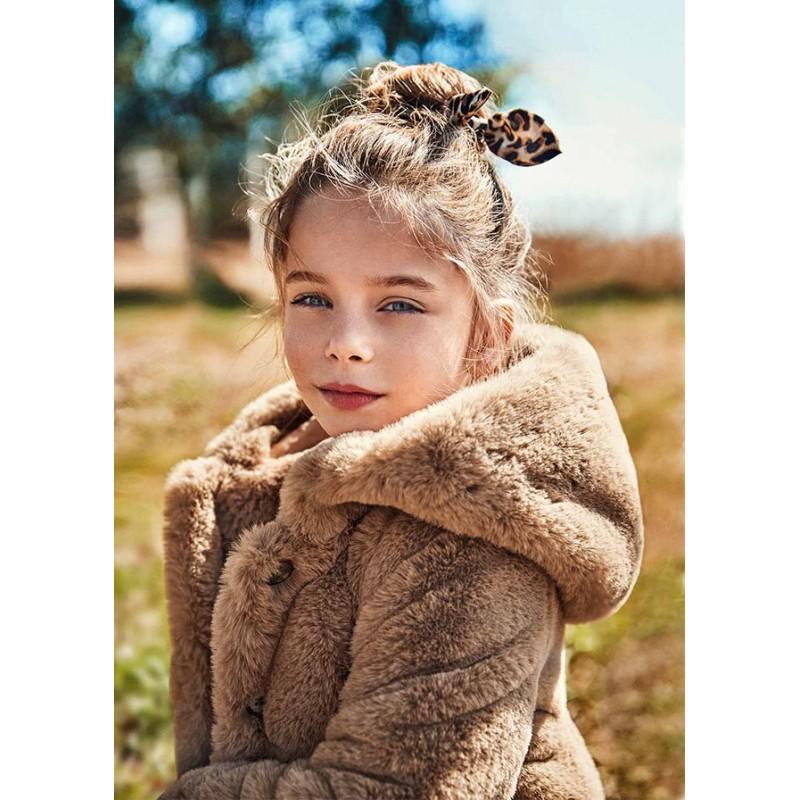 Палто от косъм за момиче Mayoral 4436-057