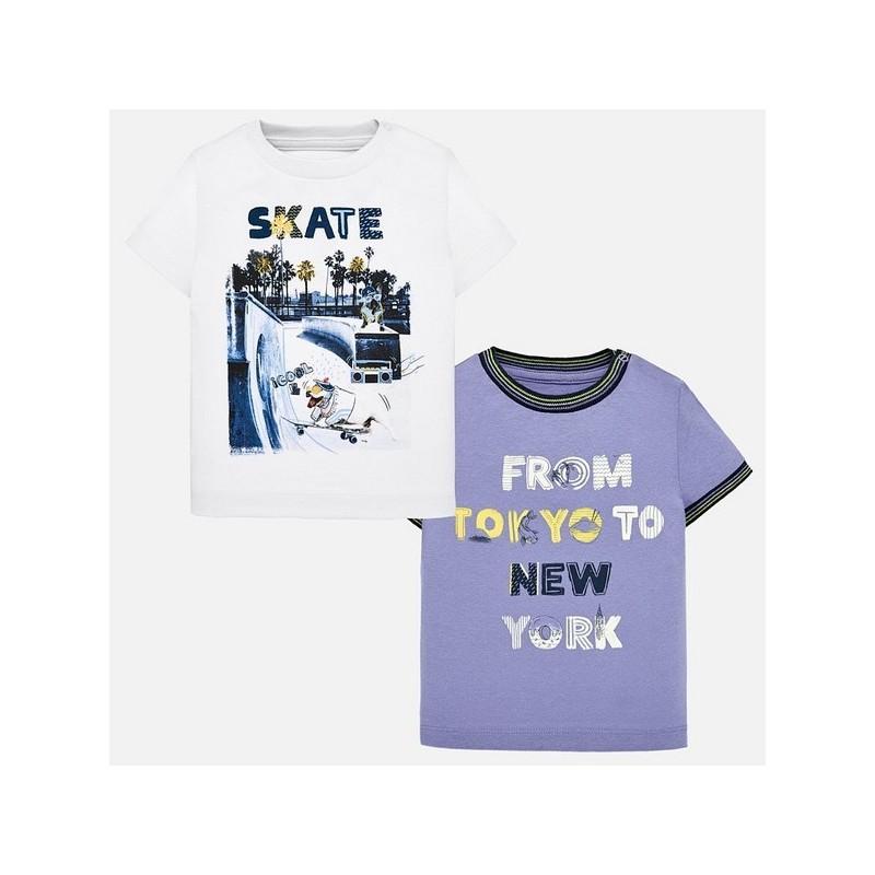 Комплект от 2 бр.тениски за момче Mayoral