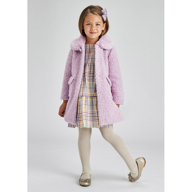 Палто от косъм за момиче Mayoral
