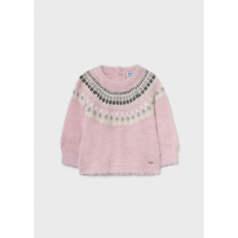 Пуловер за бебе момиче Mayoral 2384-012