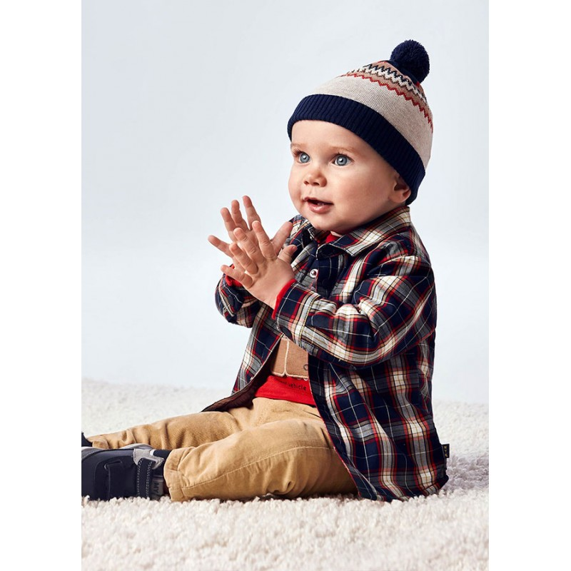 Връхна риза на карета за бебе момче Mayoral 2144-002