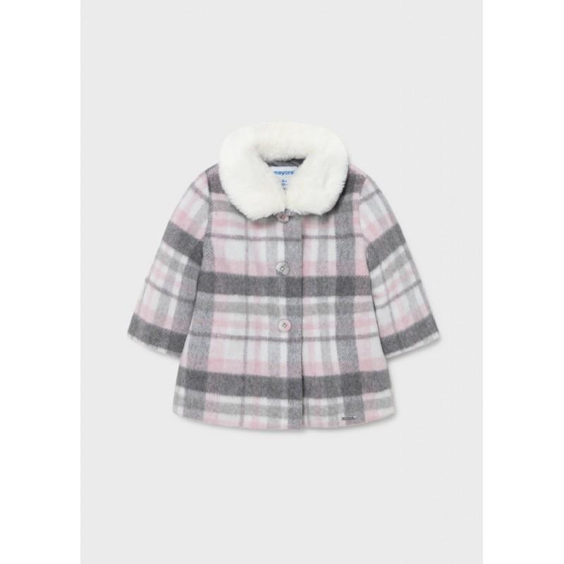 Палто каре за бебе момиче Mayoral 2433-001
