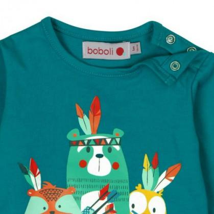 Бебешка блуза за момче Boboli