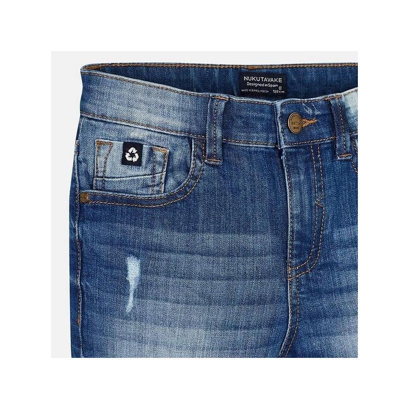 Дънкови къси панталони за момче Mayoral