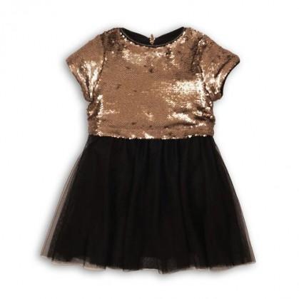 Официална рокля с пайети Minoti
