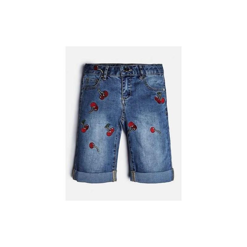 Къси дънкови панталони GUESS