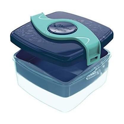 Тъмно синя кутия за храна...