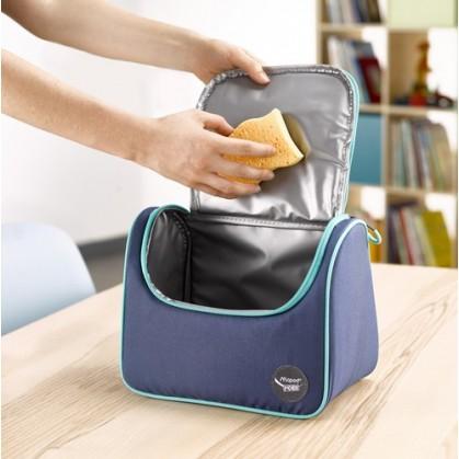 Тъмно синя термо чанта...