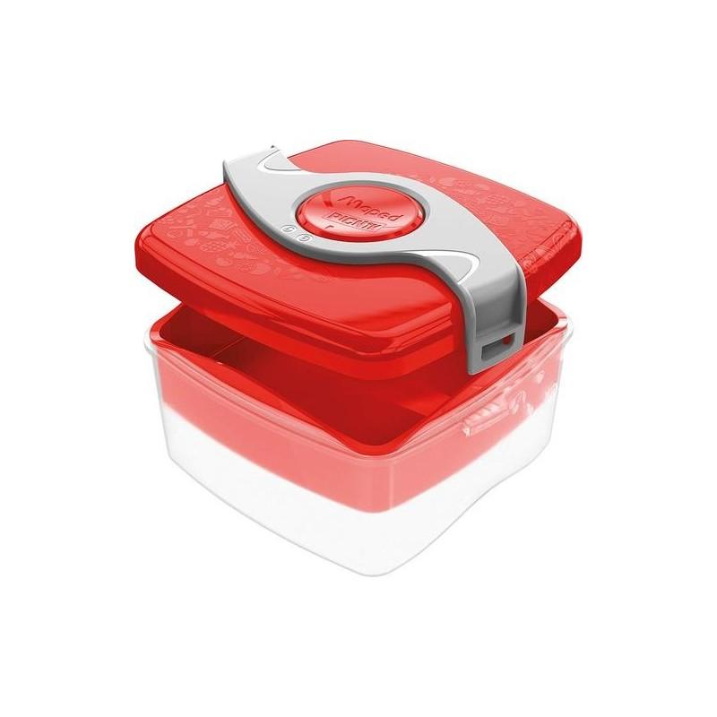Червена кутия за храна...