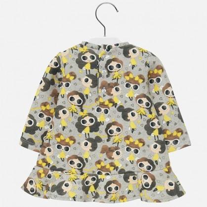 Трикотажна рокля за бебе Mayoral