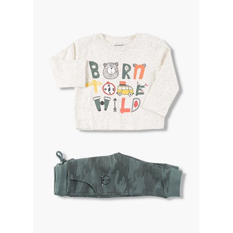 Комплект за бебе момче Losan