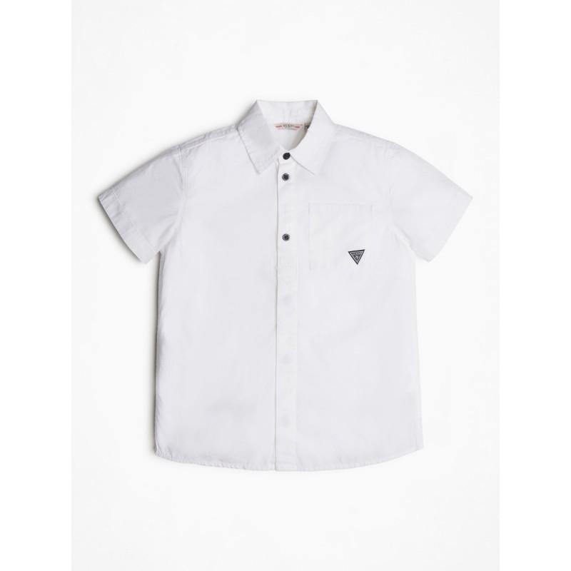 Риза с къв ръкав за момче...