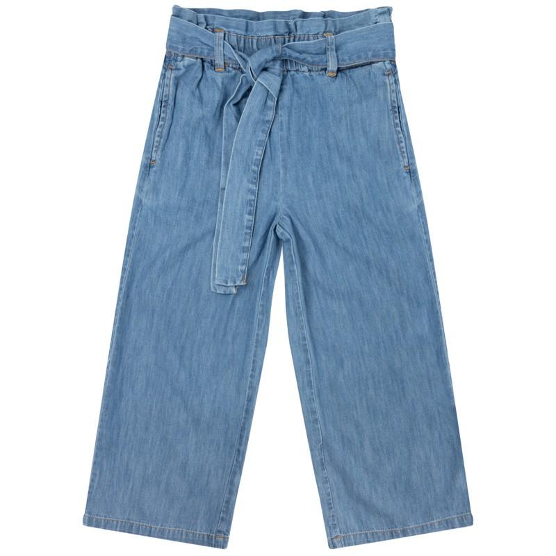 Дънков панталон за момиче...