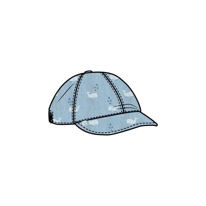 Дънкова шапка за момче Boboli