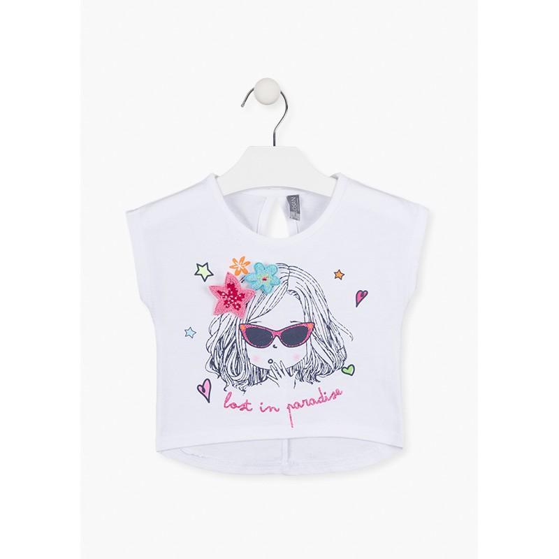 Тениска за момиче Losan