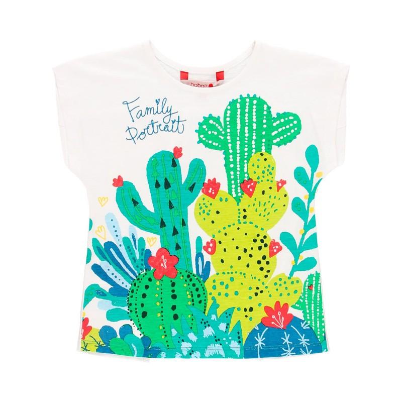 """Тениска с """"кактус"""" за момиче Boboli"""