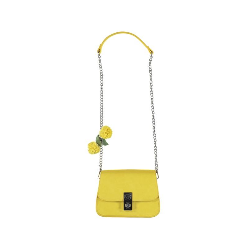 Кожена чантичка на цветя...