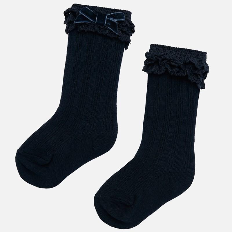 Чорапи с панделка за бебе...