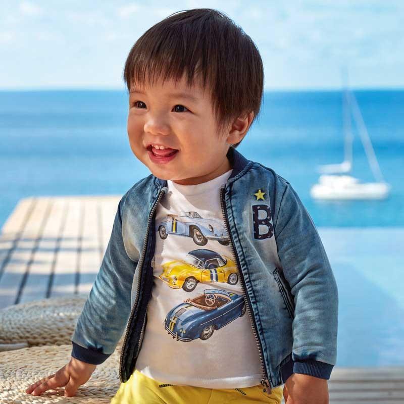Дънково яке за бебе момче...