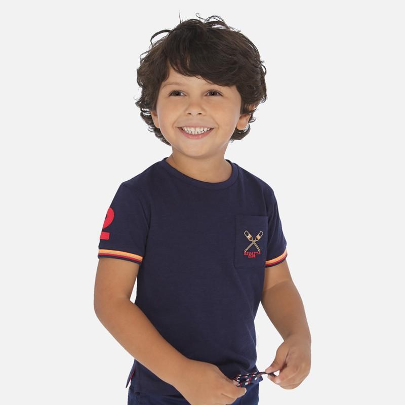 Тениска с джобче за момче...