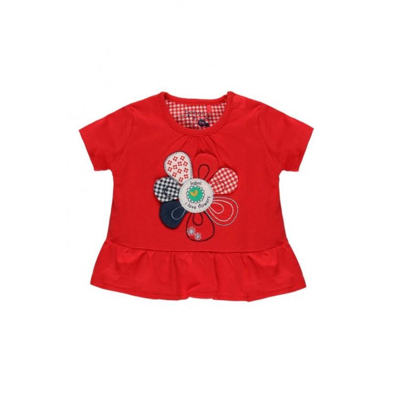 Тениска за бебе момиче Boboli