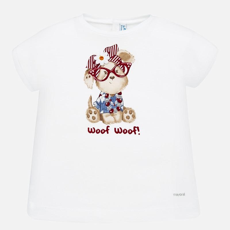 Тениска за бебе момиче Mayoral