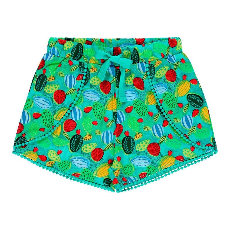 """Къси панталонки """"кактус"""" за момиче Boboli"""