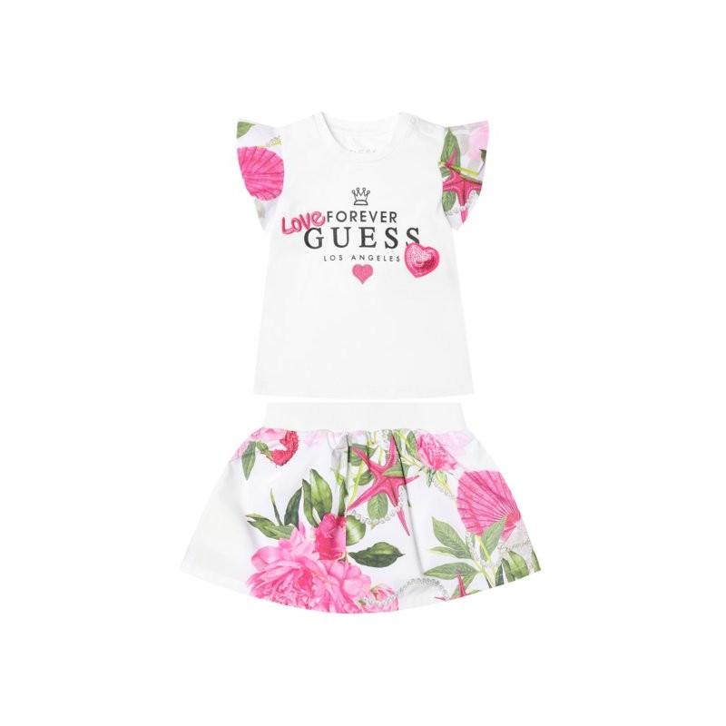 Комплект тениска и пола Guess