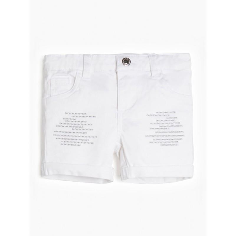 Къси панталони с бродерия...