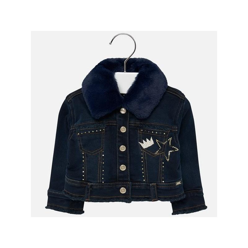 Дънково яке за бебе момиче Mayoral